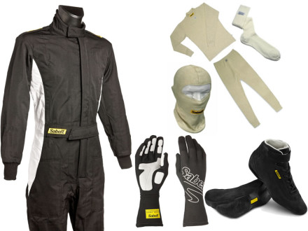 Vestimenta Pilotos de Auto